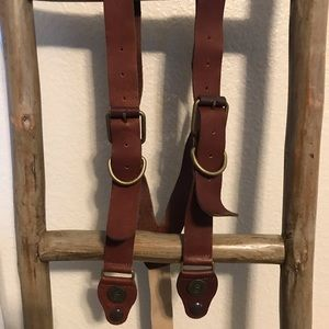 Structure Leather Suspenders- great ones!